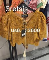 SRETSIS  (NEW US6) crop BLOUSE