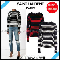 New■Saint laurent■大人気!Smoking ForeverロンT 2色☆関税込