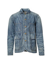 Denim Chore Blazer