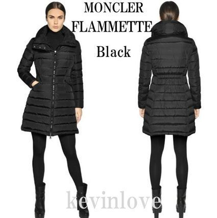 A nice clean line 17/18 winter MONCLER FLAMMETTE Black