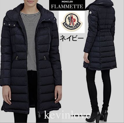 A nice clean line 17/18 winter MONCLER FLAMMETTE Navy
