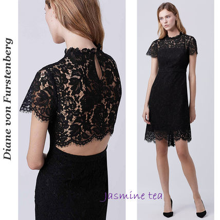 I'm happy very top DVF Alma lace dress