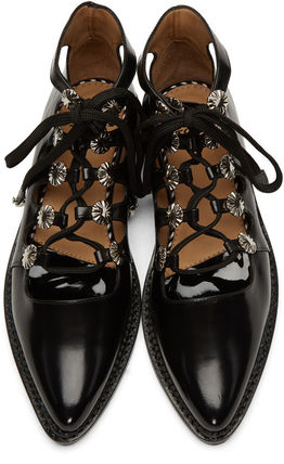 TOGA lace-up shoes and black