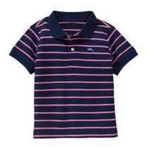 JANIE AND JACK(ジャニーアンドジャック) トップス 【JANIE AND JACK】Striped Polo Shirt