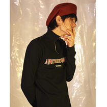 ANOTHERYOUTH(アナザーユース) ベレー帽 ANOTHERYOUTH★正規品★/ 韓国の人気/A-WOOL BERET - BURGUNDY