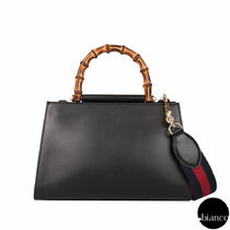 関税送料込GUCCI Nymphaea leather top handle bag Small 小さめ