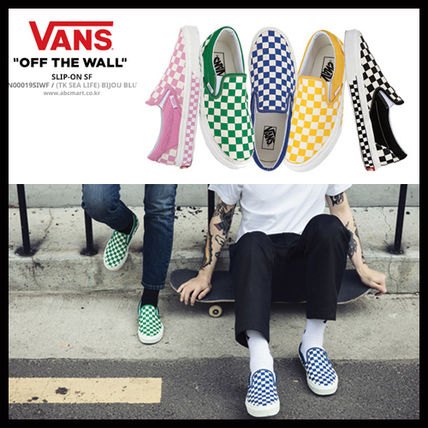 VANS DHL secured shipping SMU SLIP-ON NEXT CHECKER
