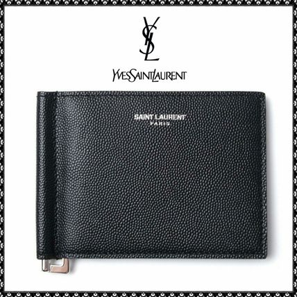 Gifts to the great Saint Laurent money clip wallet