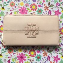 Tory Burch(トリーバーチ) 長財布 Tory Burch Stacked T Zip Continental Wallet 長財布 ピンク