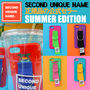 SECOND UNIQUE NAME iPhone・スマホケース 【NEW】「SECOND UNIQUE NAME」 2017 SUMMER EDITION 正規品