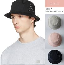 Acne(アクネ) ハット [Acne]Buk A  「A」グロメットバケットハット3色