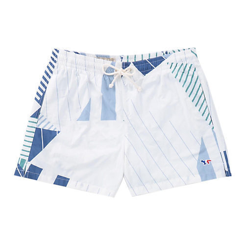 MAISON KITSUNE STRIPES SWIM SHORT 水着 ビーチ