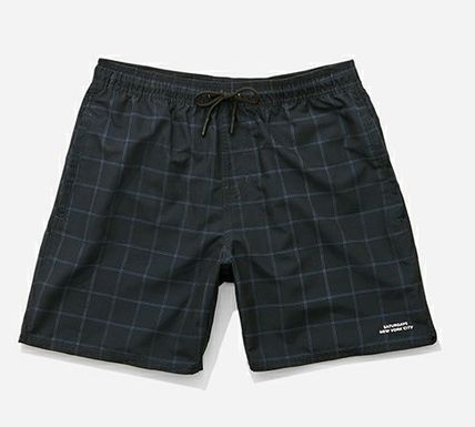 Saturdays NYC Timothy Window Pane Swim Shorts 水着