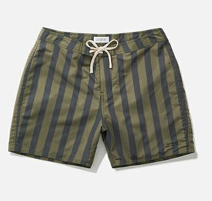 Saturdays NYC Colin Stripe Board Shorts 水着