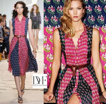 Runway look sale Diane floral dress NIEVES