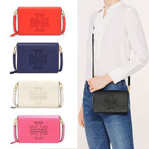 国内 Tory Burch HARPER FLAT WALLET CROSS-BODY ショルダー財布