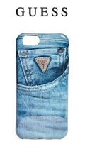 【GUESS】 デニムプリント iPhone case  iPhone6/7用