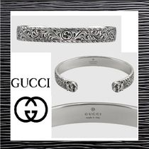 【Gucci】グッチ★Bracelet in silver with feline ブレスレット