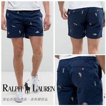 Polo Ralph Lauren Stretch Chino Twill Shorts in Navy ♪