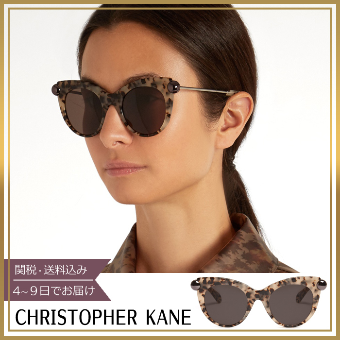 【関税込】Christopher Kane★Cat-eye acetate サングラス
