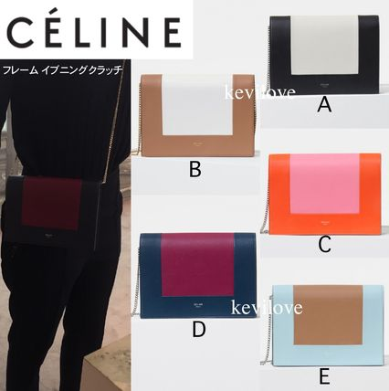 Retail store purchase CELINE 2 frame evening clutch bag