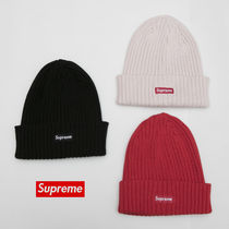 送料込17SS SUPREME OVERDYED RIBBED BEANIE CAP BOX LOGO