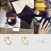 GUCCI ☆GGリング【White gold ・Yellow gold ・Pink gold 】