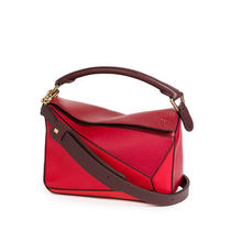 関税送料込み LOEWE SMALL PUZZLE BAG RED MULTITONE