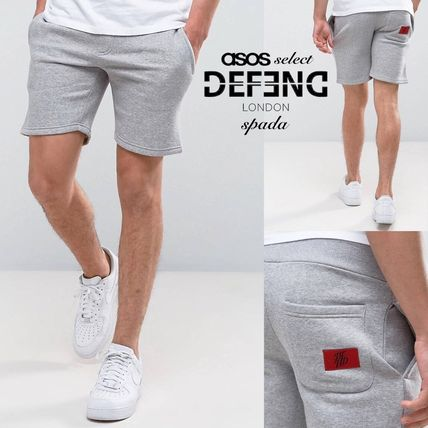 SALE DFND logo slim shorts grey /