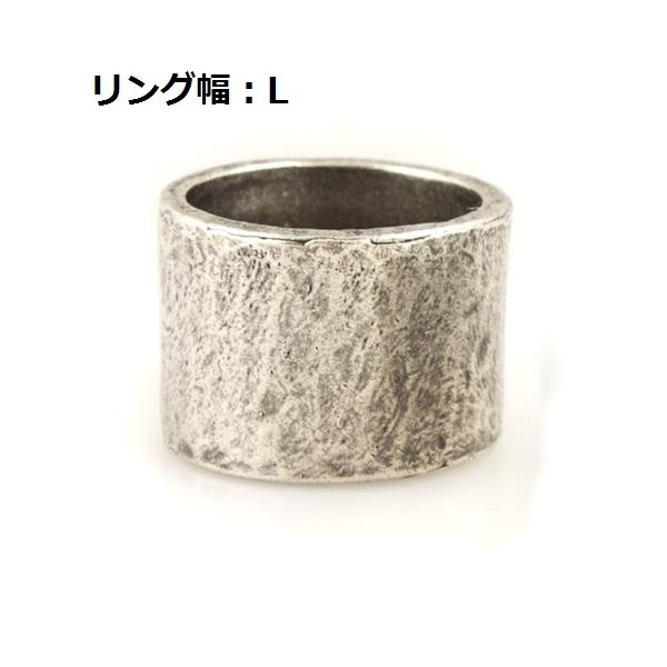 Ron Herman取扱!Carved Silver Tube Ring Lサイズ☆M. COHEN