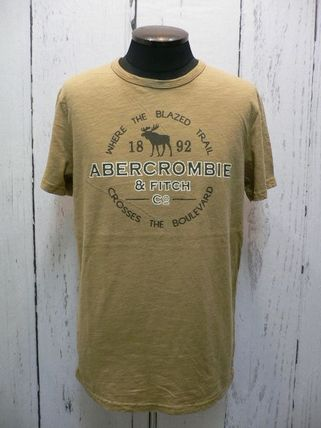 Abercrombie & Fitch Tシャツ・カットソー アバクロ 半袖Tシャツ 195-123-0902-099 A&F 正規店購入  (8298)