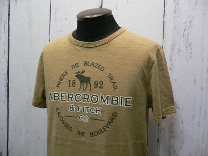 Abercrombie & Fitch Tシャツ・カットソー アバクロ 半袖Tシャツ 195-123-0902-099 A&F 正規店購入  (8298)(3)