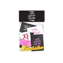 ANTI SOCIAL SOCIAL CLUB YOU KNOW YOU WANT IT STICKER PACK