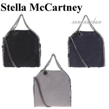 Stella McCartney FALABELLA shaggy dear tiny tote