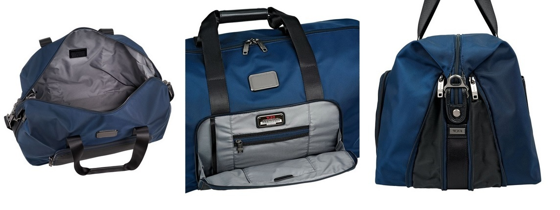 Tumi ★ 22159 Alpha 2 Double Expansion Travel Satchel