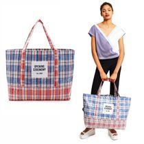 Opening Ceremony LARGE ロゴ ビニール TOTE BAG