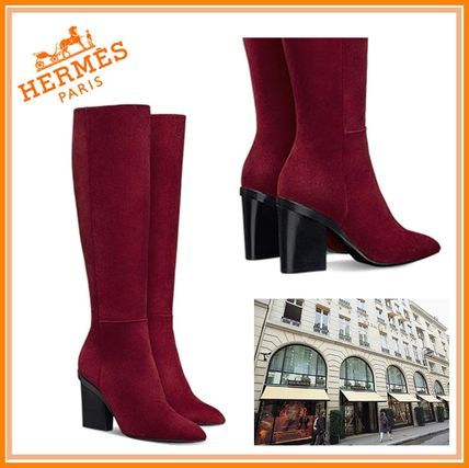 2017 autumn & winter HERMES Patience long boots