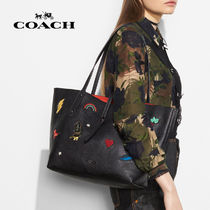 COACH / Market Tote パッチワークマザーズバッグ