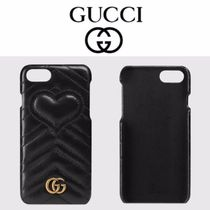 GUCCI☆直営店買い付け/ギフトOK☆GGマーモントiPhone7ケース