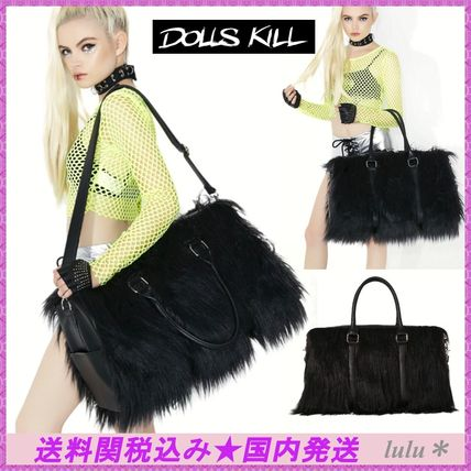 DOLLS KILL CURRENT MOOD to faux leather Boston bag