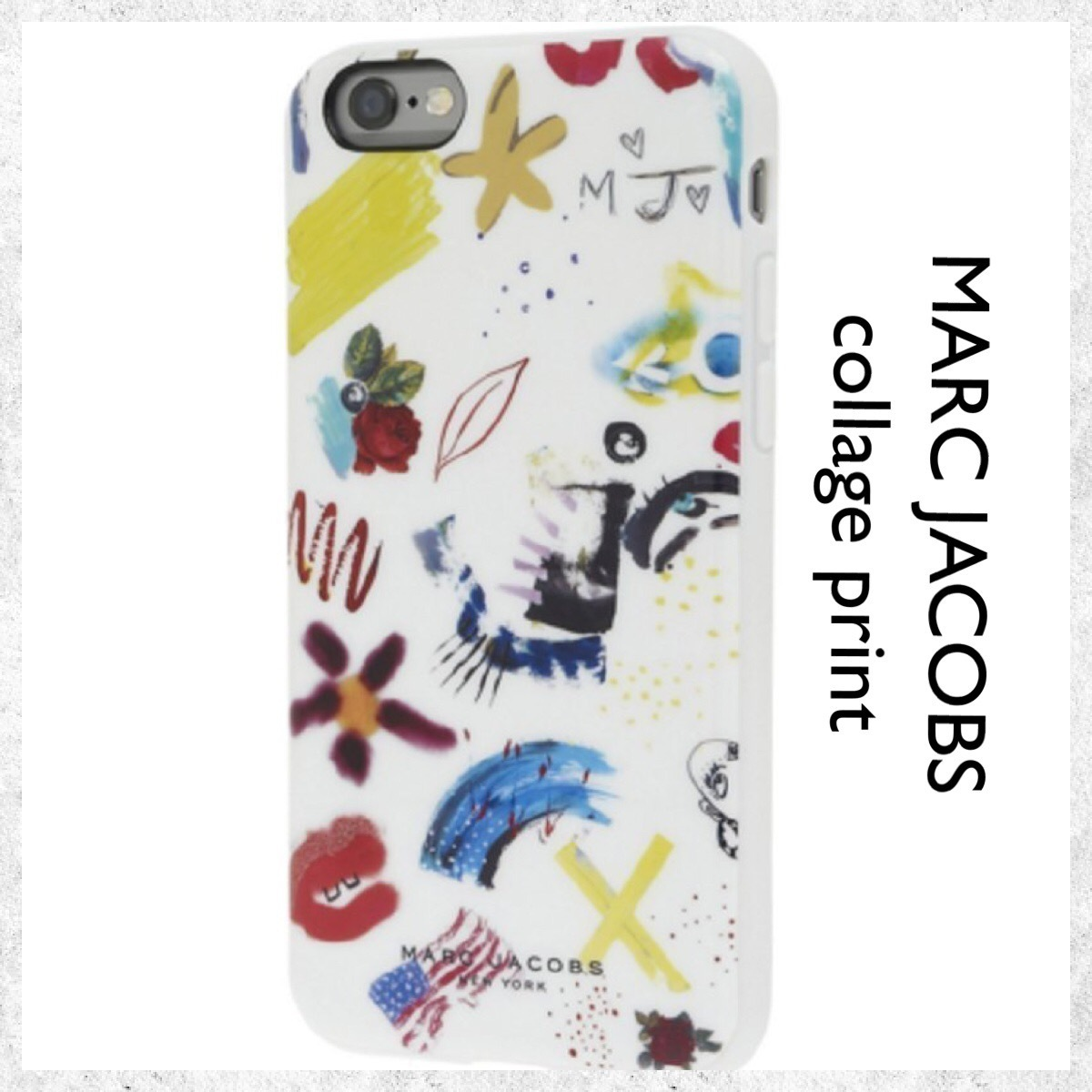 MARC JACOBS / iPhone 6/6S case / コラージュプリント