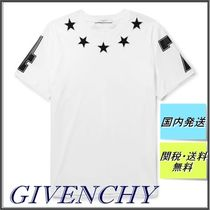 【即納・SALE】GIVENCHY Cuban-Fit Star Tシャツ White