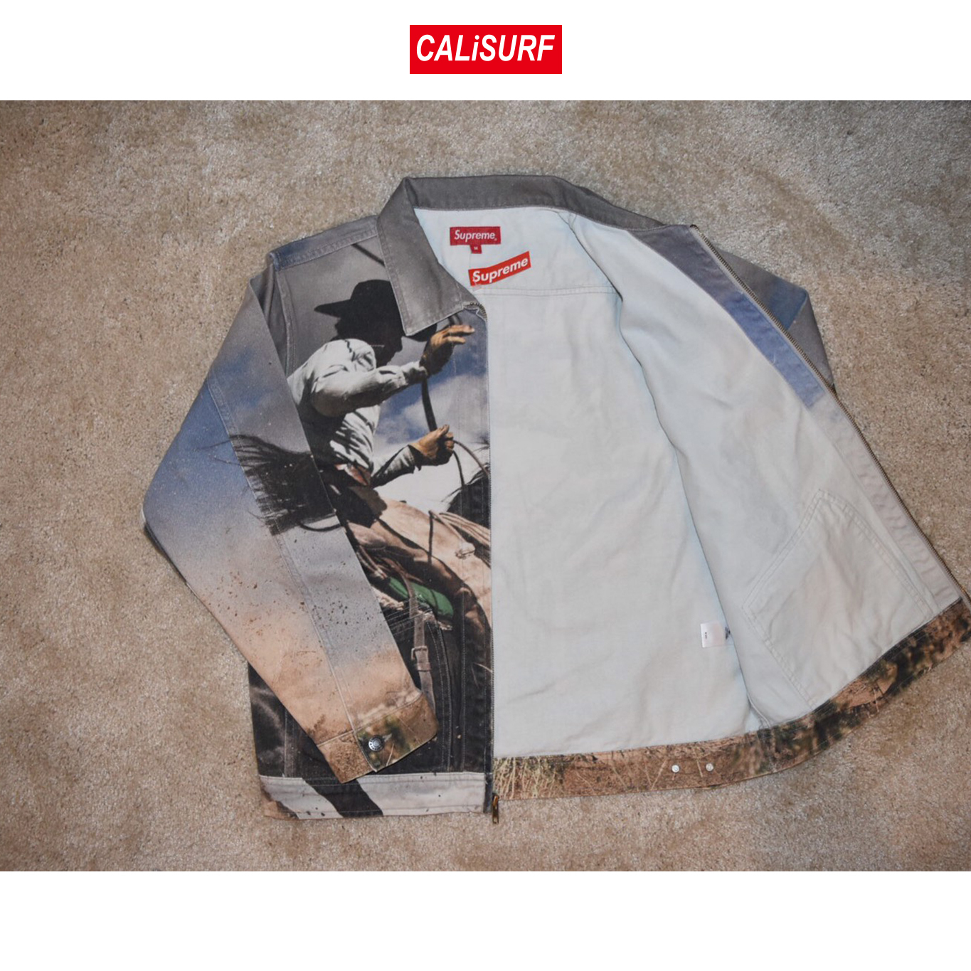 Sサイズ Supreme(シュプリーム) COWBOYS DENIM JACKET