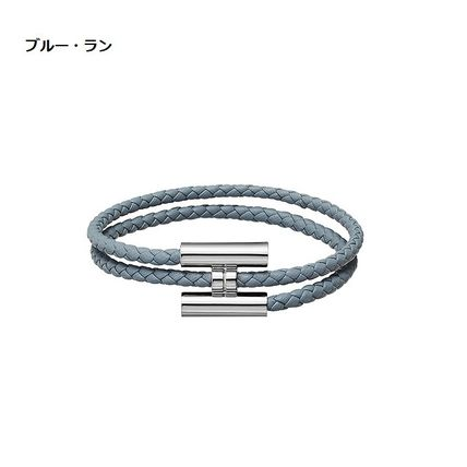 HERMES ブレスレット 【直営店買付すぐ届く】HERMES 《Tournis tresse》 国内発(9)