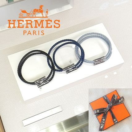 HERMES ブレスレット 【直営店買付すぐ届く】HERMES 《Tournis tresse》 国内発(2)
