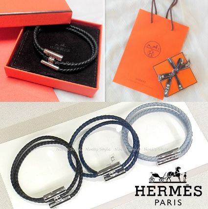 HERMES ブレスレット 【直営店買付すぐ届く】HERMES 《Tournis tresse》 国内発