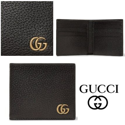 GUCCI グッチ GGMarmont Textured-Leather Billfold 財布 関税込