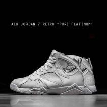 "AIR JORDAN 7 RETRO ""PURE PLATINUM"" ジョーダン 7 ホワイト"
