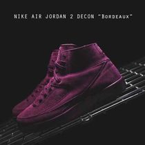 NIKE AIR JORDAN 2 DECON BORDEAUX 北米東部限定カラー
