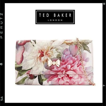 Ted Baker MISOSO floral print clutch bag 2-way